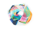 BIRDS OF PARADISE SILK SCARF