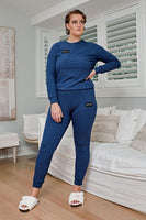 Comfort Queen - Top and Pant Separates - Storm
