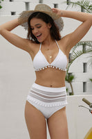 Petal White Swimwear Set