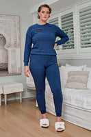 Comfort Queen - Top and Pant Separates - Storm, Monica The Label, women's plus size loungewear