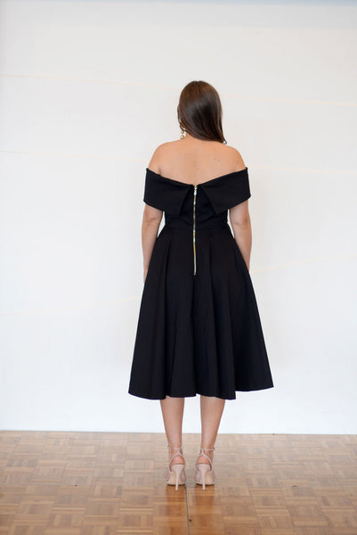 KATICA BLACK DRESS,,
