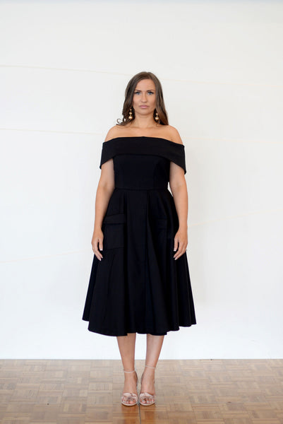 KATICA BLACK DRESS