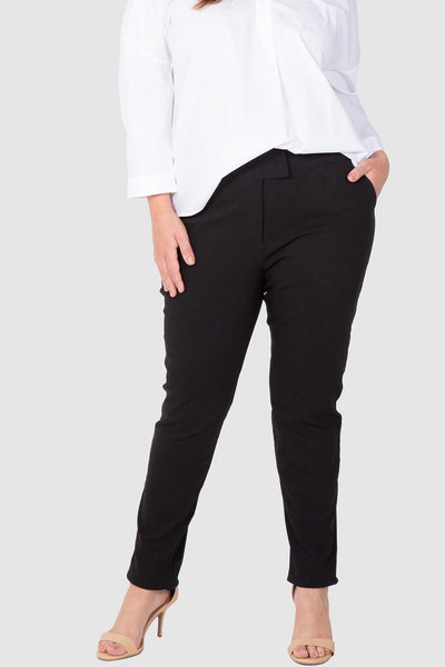 WORK FOR IT STRETCH BENGALINE PANT (BLACK),,