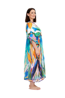 BIRD OF PARADISE KAFTAN,,