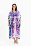 DANGERS OF THE DEEP KAFTAN, Coral & Co, Coral and Co, women's plus size kaftan