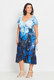 Dress Wrap Ruffled – Forest Butterflies