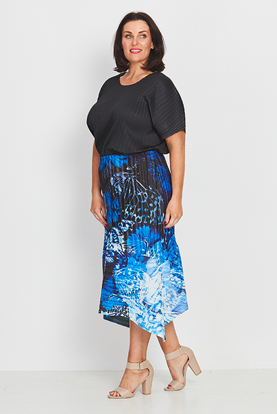 Skirt A-Line – Forest Butterflies
