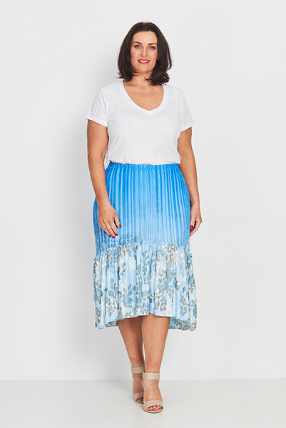 Skirt Boho Peasant – Forest Ferns