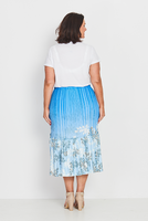 Skirt Boho Peasant – Forest Ferns,,