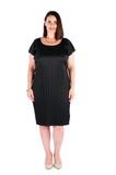 CLASSIC SHIFT DRESS MIDNIGHT BLACK
