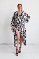 Jasmine Dress in Cosmos Print, Monica The Label, women's plus size dress
