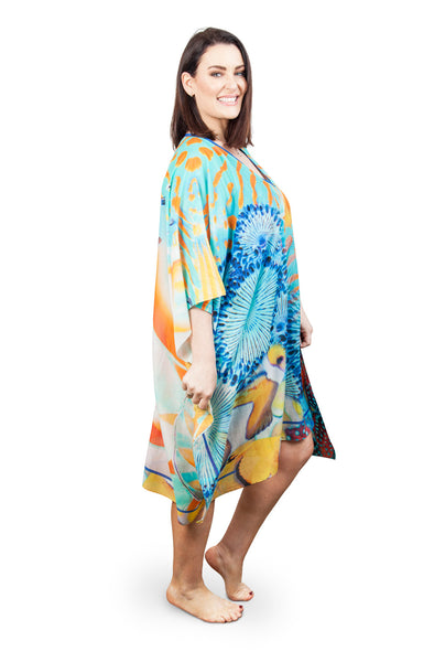 SHORT BEAUTIES OF THE DEEP KAFTAN