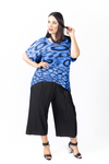 CAPRI PANTS MIDNIGHT BLACK, Coral & Co, Coral and Co, women's plus size pants