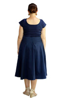 CAMILLA JAYNE NAVY DRESS,,
