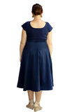 CAMILLA JAYNE NAVY DRESS