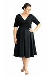 CAMILLA JAYNE BLACK DRESS, Camilla Jayne, women's plus size dress