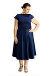 CAMILLA JAYNE NAVY DRESS, Camilla Jayne, women's plus size dress