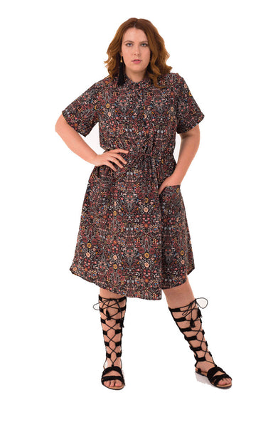 FLORENCE DRESS, Hope & harvest, women's plus size dress