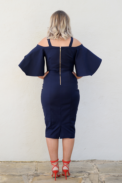 ZOE DRESS - MIDNIGHT BLUE
