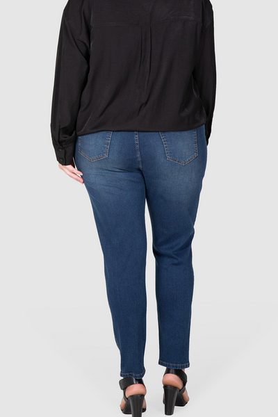 Lottie Slim Stretch Jean - Dark Indigo