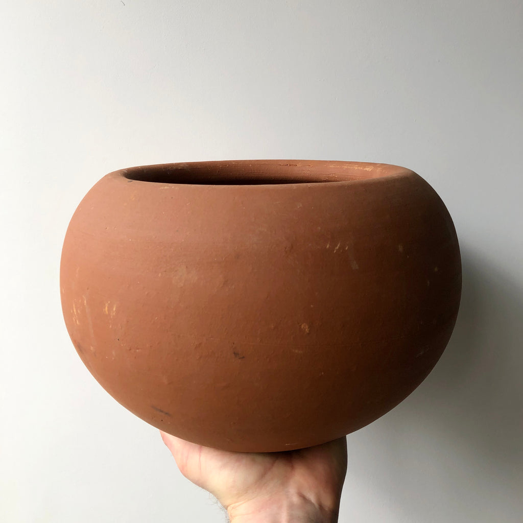 Terra Cotta Ball Pot