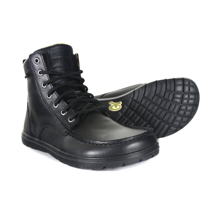 Lems Boulder Boot Leather Raven (EU Sizing)
