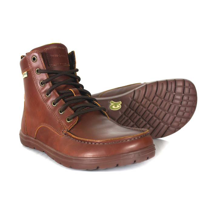 Lems Boulder Boot Leather Russet (EU Sizing)