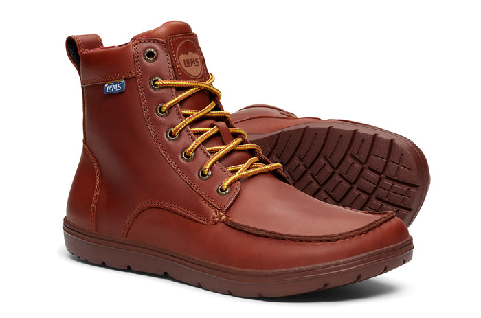 Women's Lems Boulder Boot Leather Russet