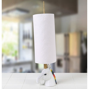 Unicorn Paper Towel Holder