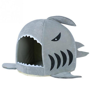 Your Cat to Have This Stylish Shark Bed