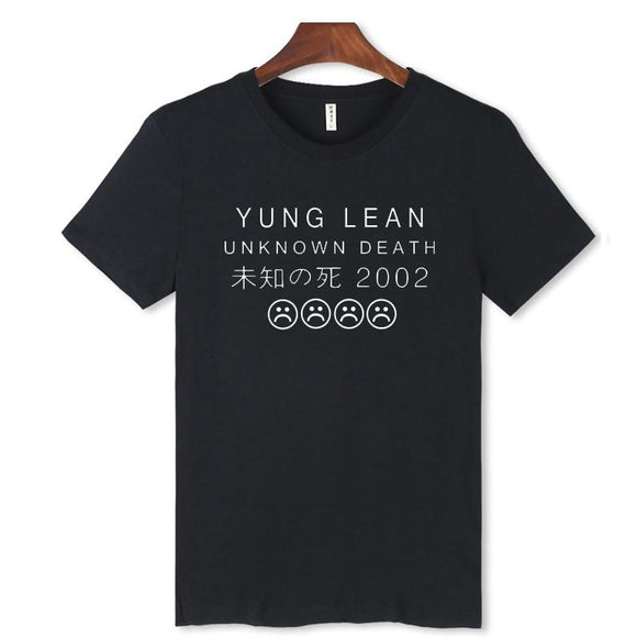 women and men YUNG Lean T-shirt summer YUNG Lean t shirt homme t shirt men hip hop YUNG Lean T-shirts clothing
