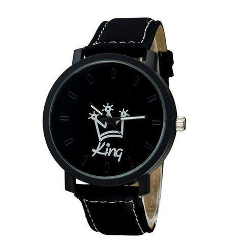 """King Queen"" Male and Female Wrist Watches"