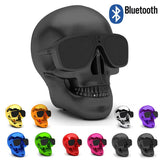 Wireless Skull Stereo Speaker Bluetooth Or NFC