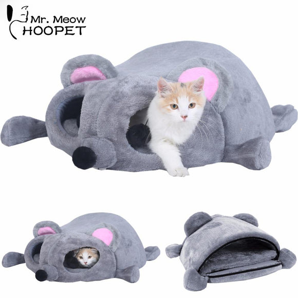 Adorable Mouse Shaped Warm Bed for Cats