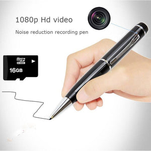 Portable Pen with high definition voice recording and video camera