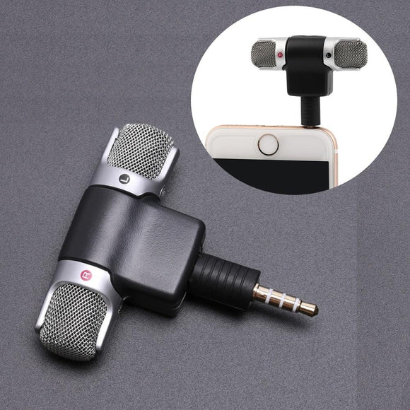 Mini Microphone Jack for Smartphones