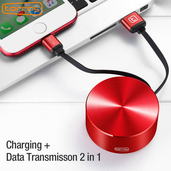Retractable Fast Charging Cable