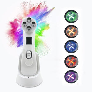 6-in-1 LED Facial Rejuvenation Massager