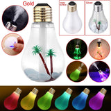 Multi-Colour USB  Humidifier Bulb