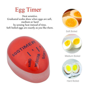 EGG TIMER SHIFTS COLOR FOR PERFECT EGGS