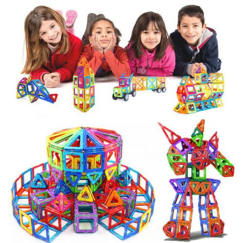 Magnetic building blocks baby toys
