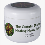 4 oz Grateful Dude's Healing Hemp Balm