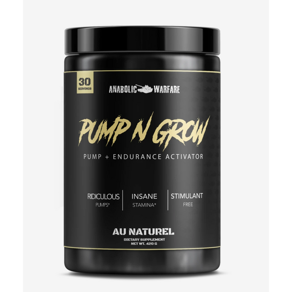PUMP-N-GROW - ANABOLIC WARFARE