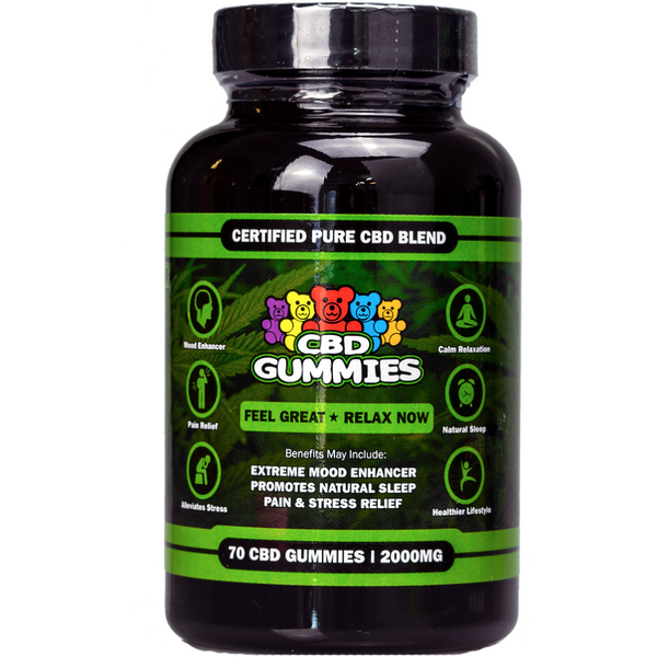 Hemp Bombs (2000mg) 70ct CBD Gummies