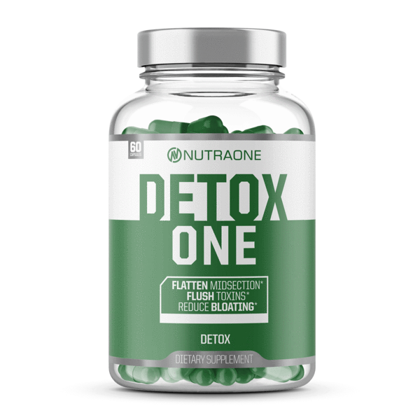 DetoxOne By NutraOne | Reduce Bloating & Flatten Midsection