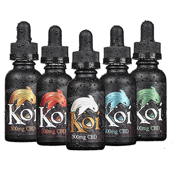 KOI (100mg`250mg`500mg`1000mg) 30ml CBD Tincture/E Liquid Price