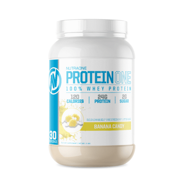 ProteinOne By NutraOne 2LBS (Banana Candy)