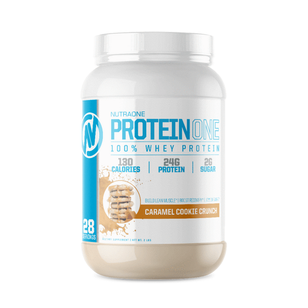 ProteinOne By NutraOne 2LBS (CARAMEL COOKIE CRUNCH)
