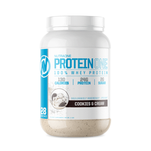 ProteinOne By NutraOne 2LBS (Cookies & Creme )