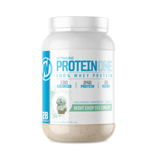 ProteinOne By NutraOne 2LBS (Mint Chip Ice Cream )